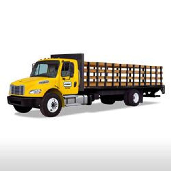 Penske Flatbed truck rental
