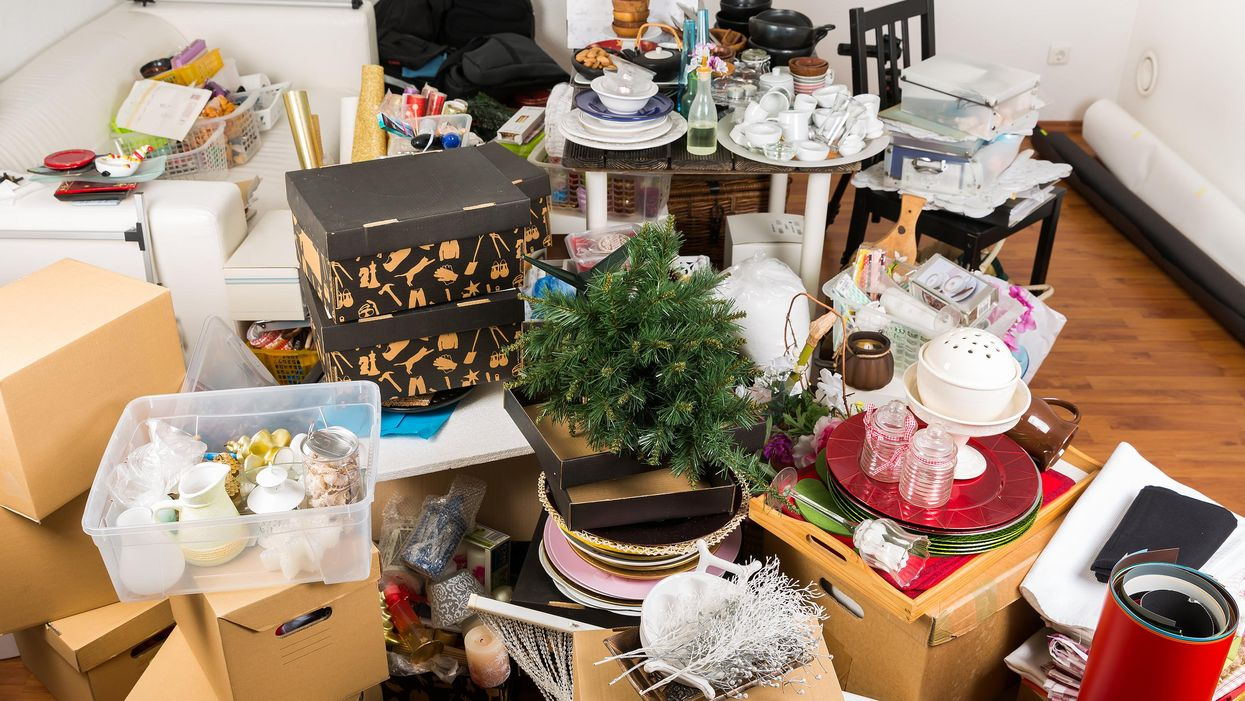 Clutter in House