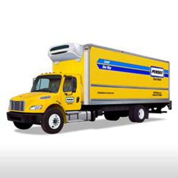 Penske refrigerated truck